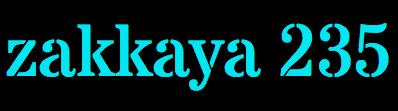 zakkaya 235