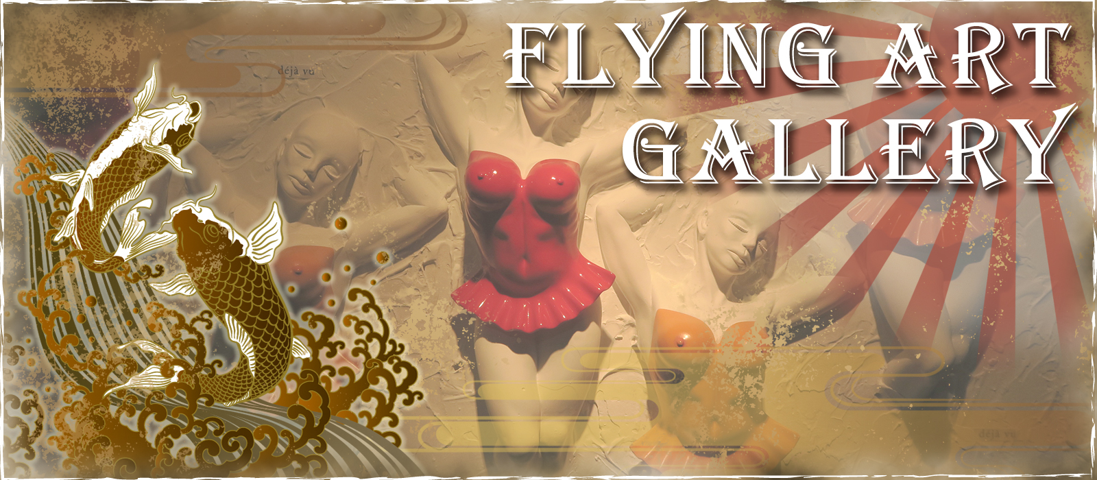 Flying Art Gallery