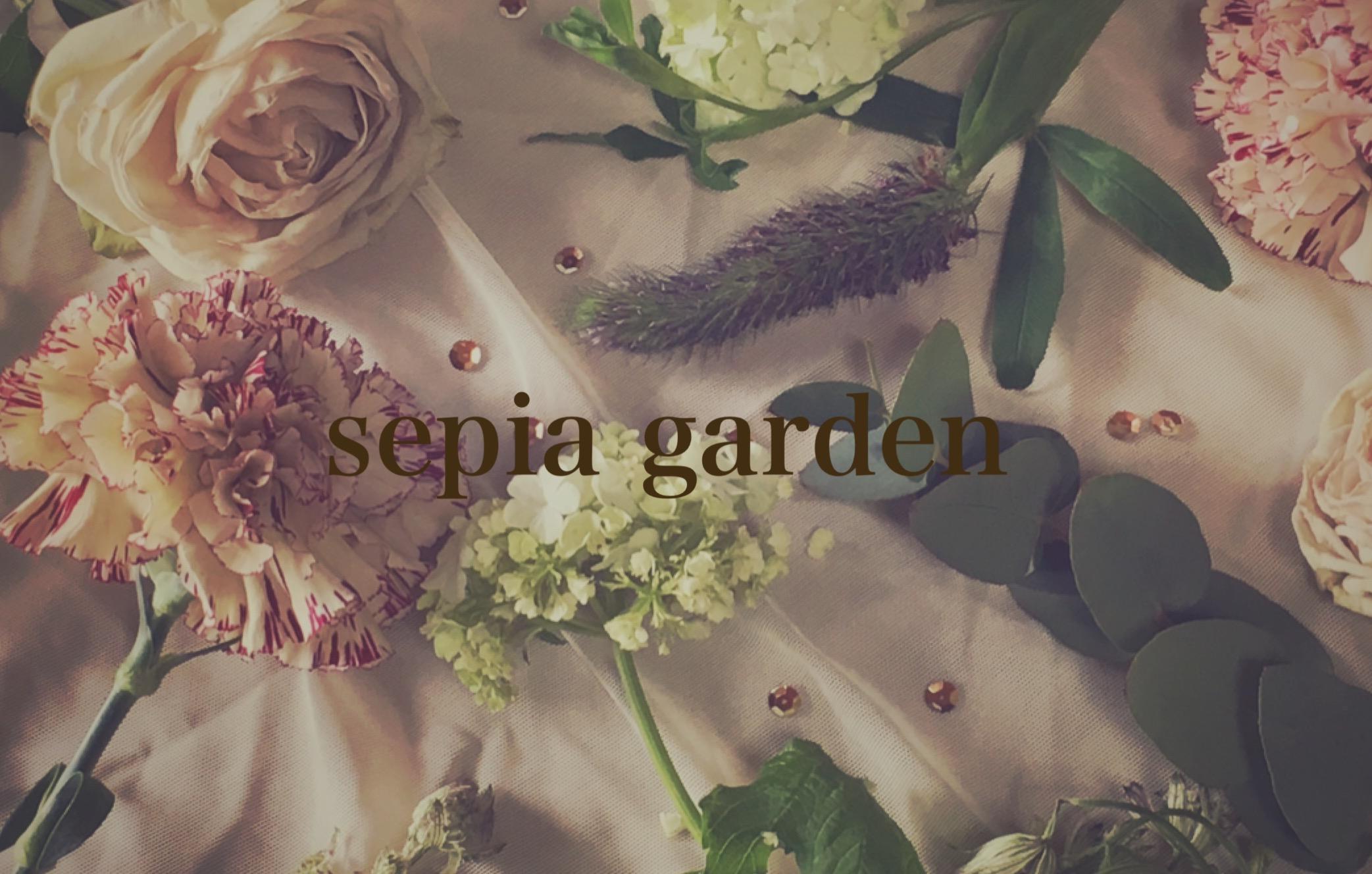 sepia garden