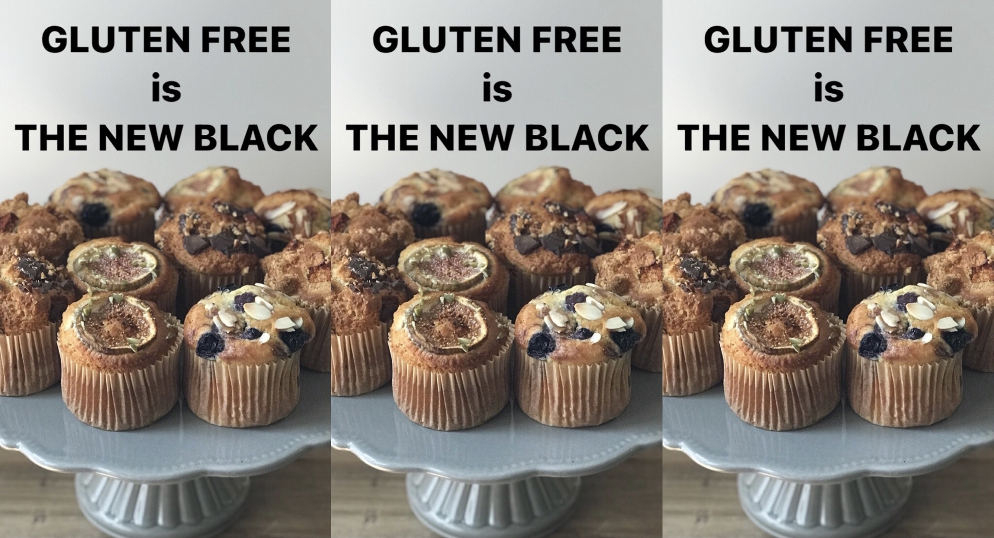 GLUTEN FREE is THE NEW BLACK (グルテンフリー)