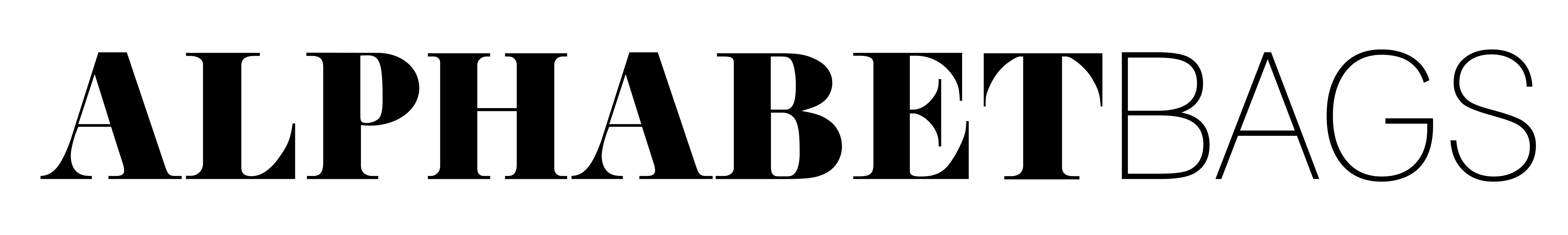 アルファベットバッグス イニシャルがま口 誕生石ポーチ