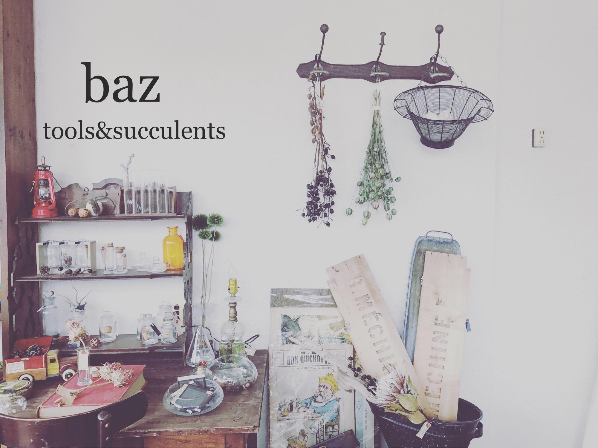 Baz  tools&plants
