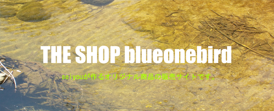 THE SHOP blueonebird