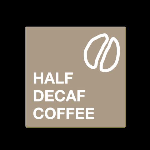 ハーフデカフェコーヒー専門「HALF DECAF COFFEE」