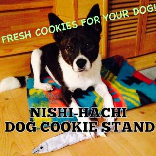 NISHI-HACHI DOG    COOKIE STAND / 西八ドッグクッキースタンド