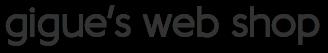 gigue's web shop