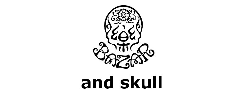 and skull Presented by 樂BAZAR