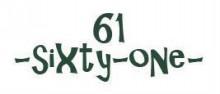 61 -sixty-one-