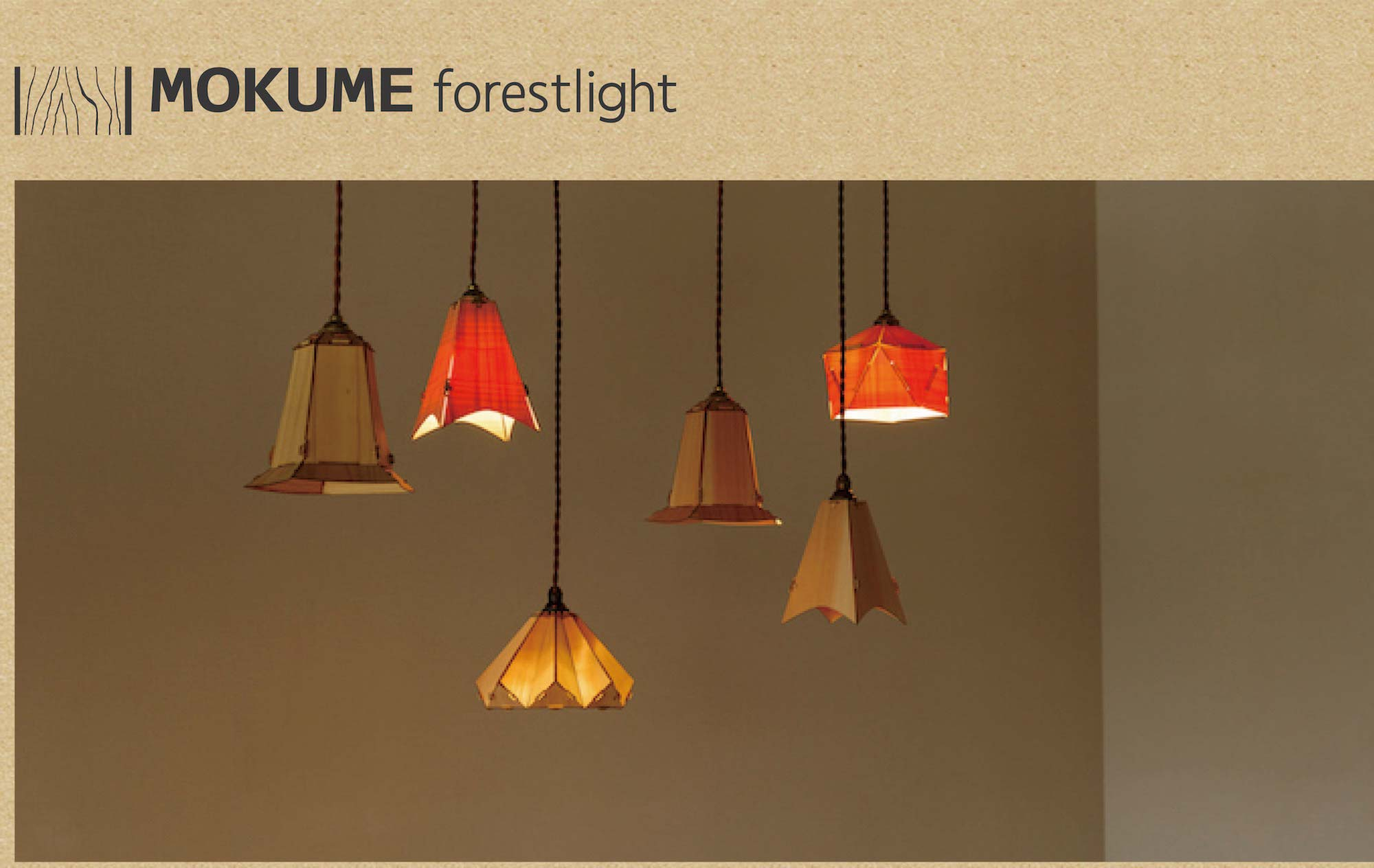 MOKUME forest light