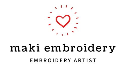 maki* embroidery  刺繍・ビーズ・アート