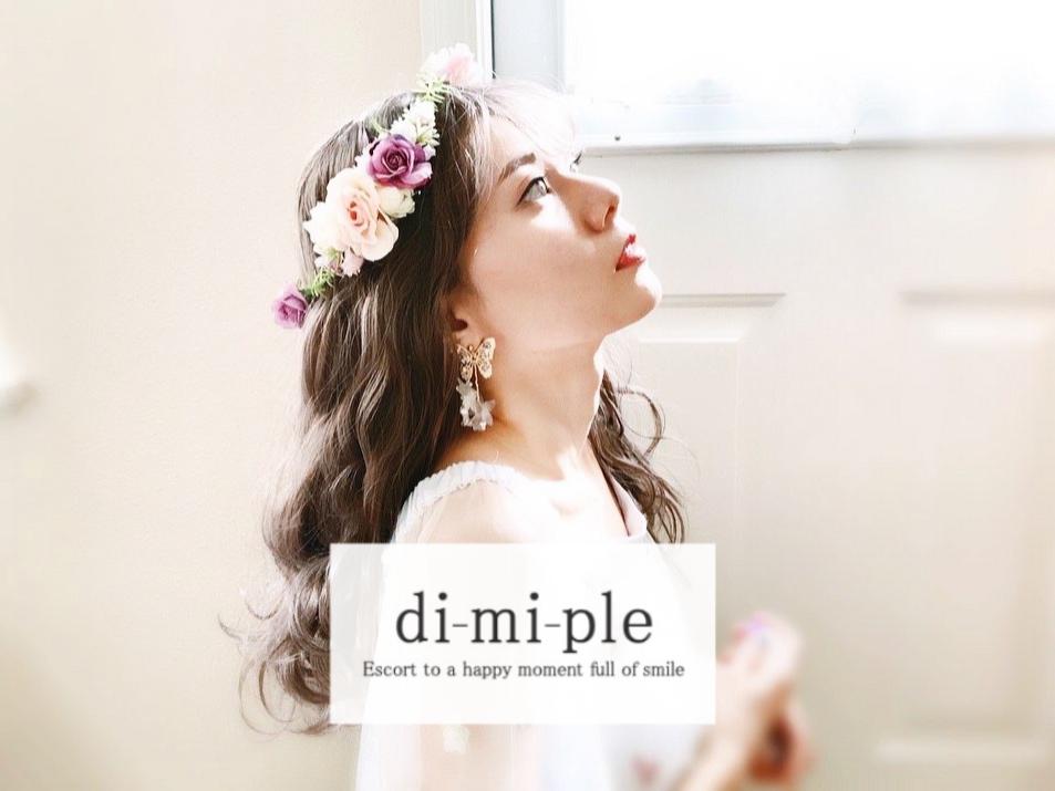 di-mi-ple[ディーミープール]天然石とビジューのアクセサリー