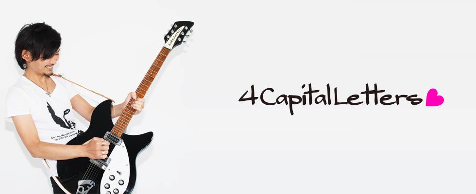 4 Capital Letters - XXXX - デザインTシャツ