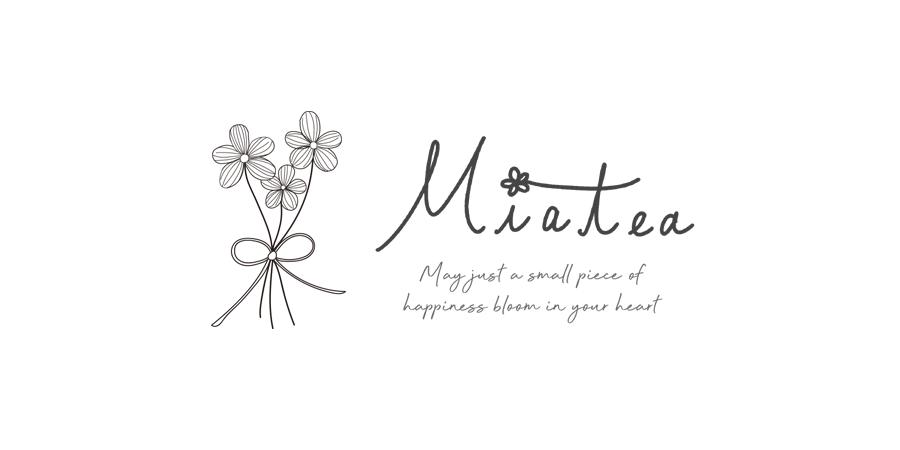 刺繍糸のお花アクセサリー*Miatea(ミアティー)