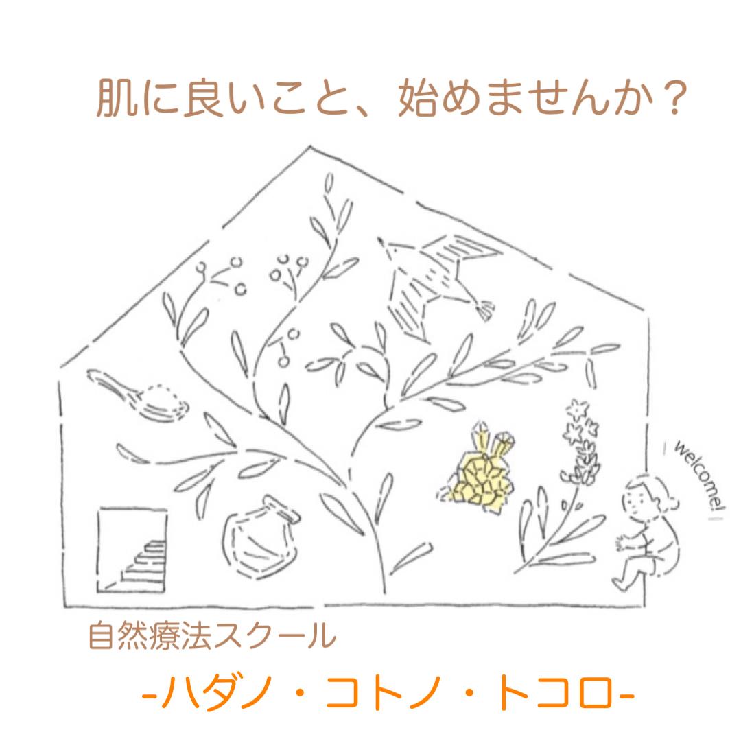 自然療法スクール -ハダノ・コトノ・トコロ-