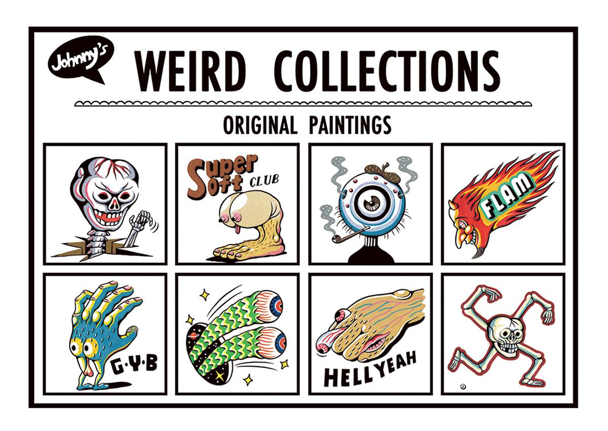 weird collections