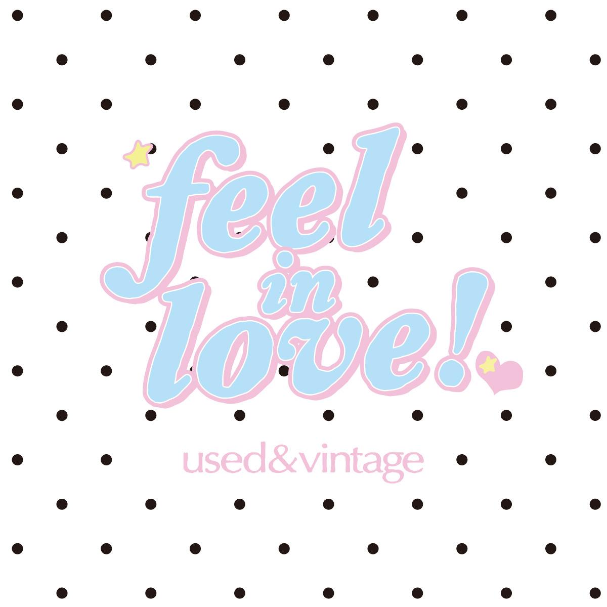 feel in love!❤︎