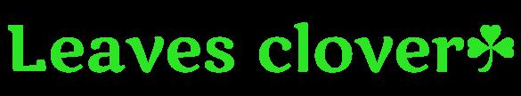 Leaves clover
