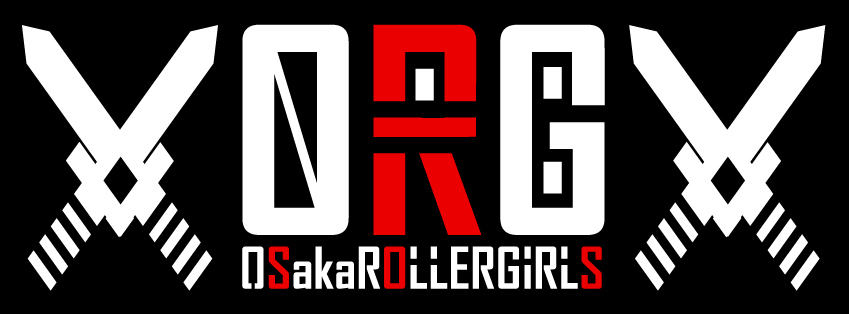 ORG▼Osaka Roller Girls▼オリジナルTシャツ
