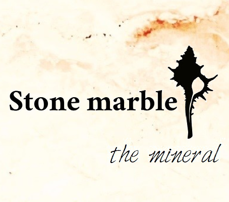Stone marble the mineral