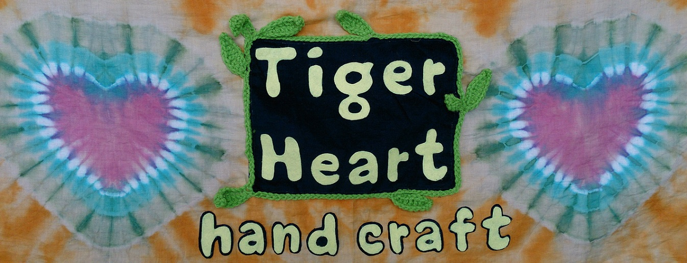 Tiger Heart hand craft