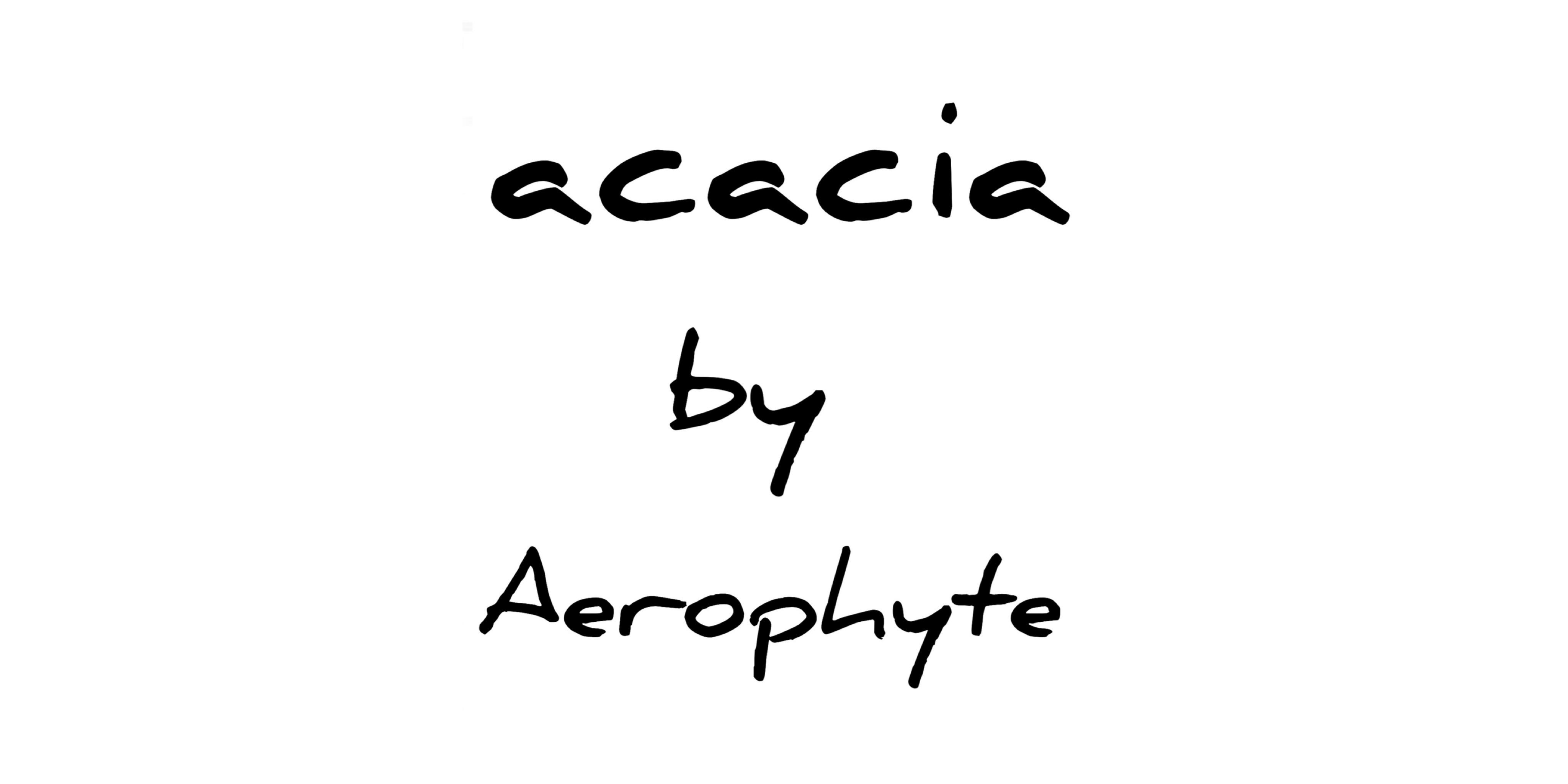 acacia by Aerophyte