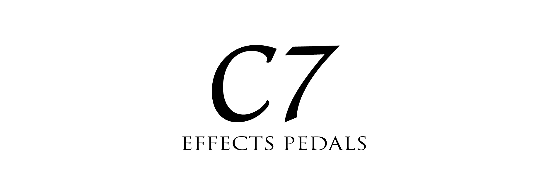 C SEVEN EFFECTS PEDALS