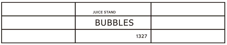juice stand BUBBLES Online Shop