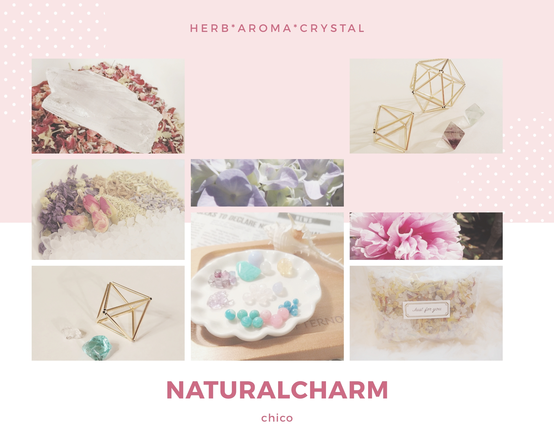naturalcharm〜ハーブと天然石