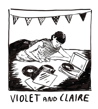 Violet And Claire