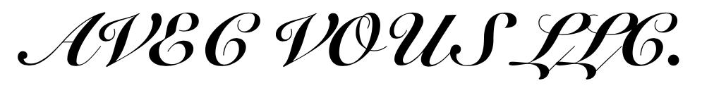 AVEC VOUS(アヴェク ヴ)
