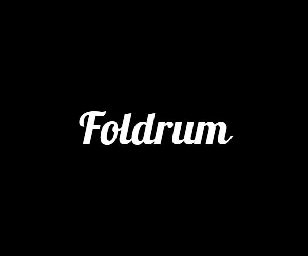 -Foldrum- 折り畳める超軽量ドラム