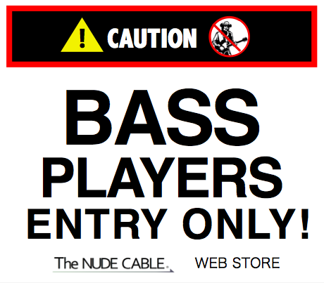 【BASS☆ONLY】NUDE CABLE ベーシスト専用web支店