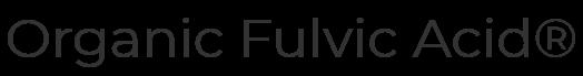 Organic Fulvic Acid ®
