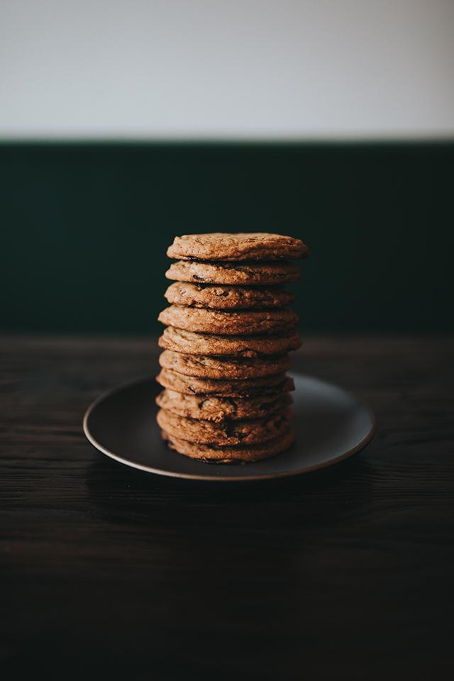 自家製チョコクッキー
