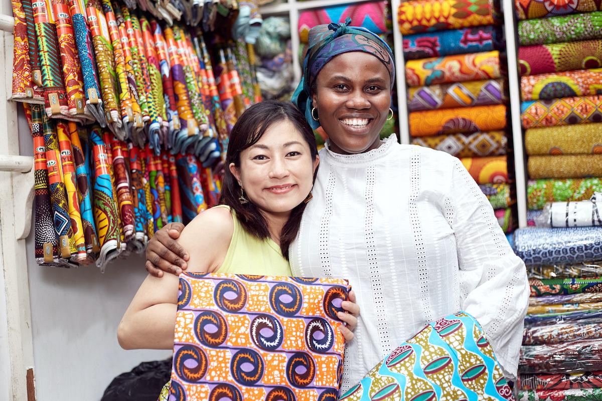 Cherry et Cacao (チェリエカカオ) | 西アフリカ・ガーナの布地×日本縫製の服