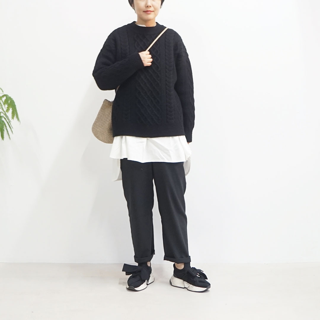 have a good day<br /> Cable sweater