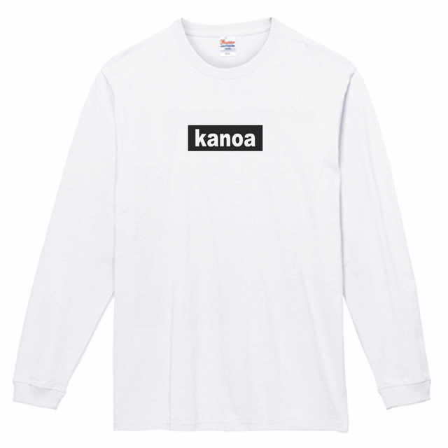 Box logo long Tshirt 7.4