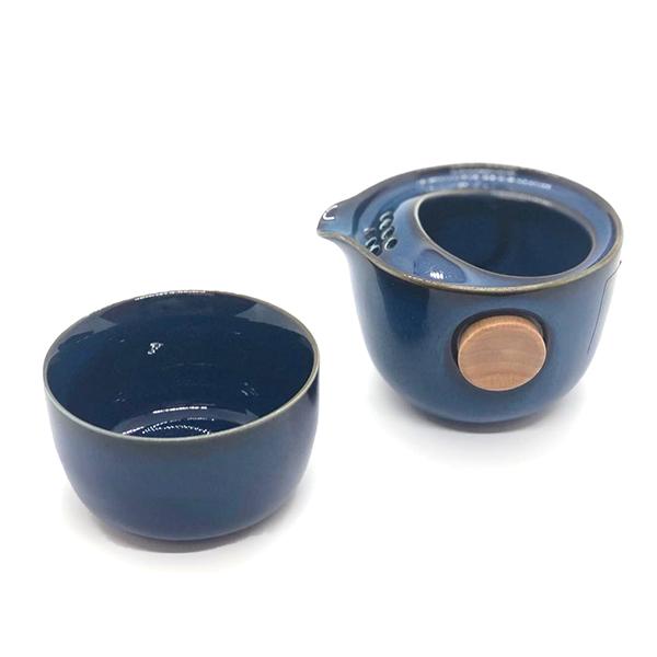 台湾茶が初めての方にもオススメ<BR>EILONG オールインワン茶器セット <BR>¥6,300