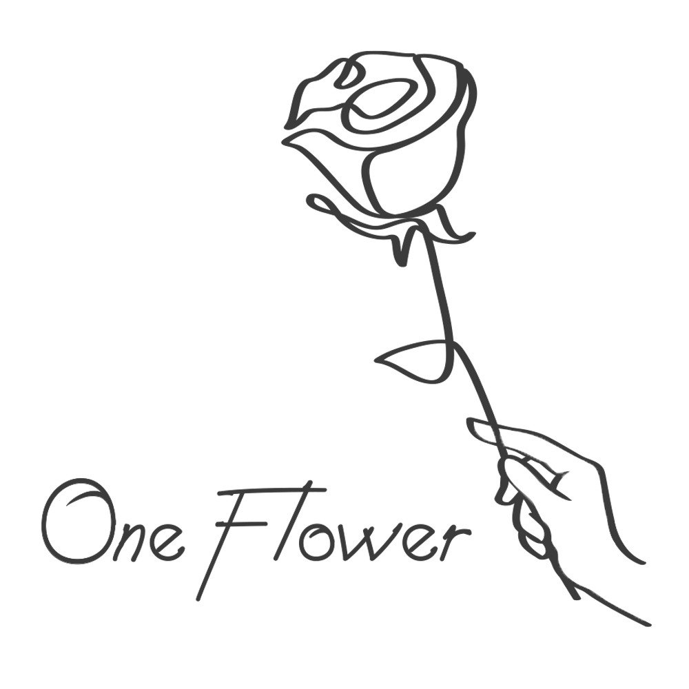 一輪のバラを実質無料でお届け<br> ワンフラワプロジェクトをスタート