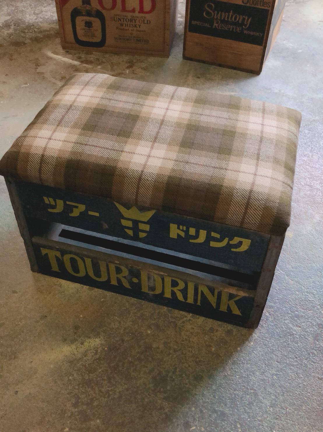 リメイク木箱椅子