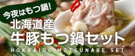 北海道産もつ鍋セット