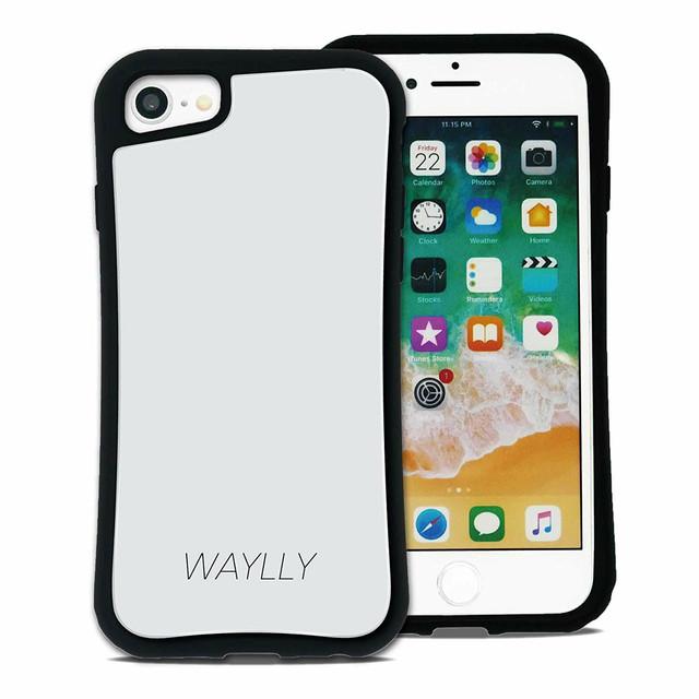 8ff5c4888f スモールロゴ ホワイト セット WAYLLY(ウェイリー) iPhone 8 7 XR XS X 6s 6
